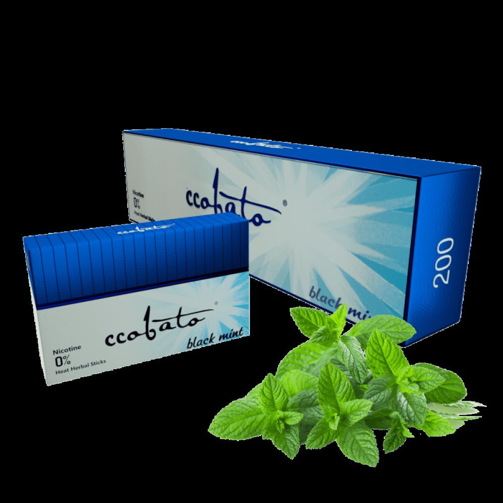 Стики табачные безникотиновые ccobato black mint оптом какую лучше жидкость для электронных сигарет купить